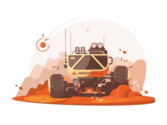 mars rover ai