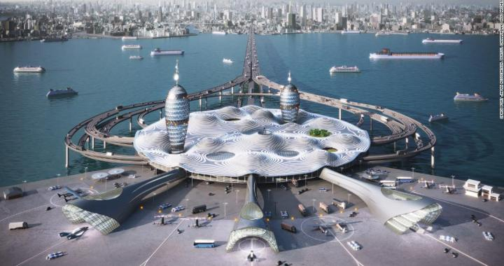 Japan Wants to Build a Floating Spaceport City in Tokyo