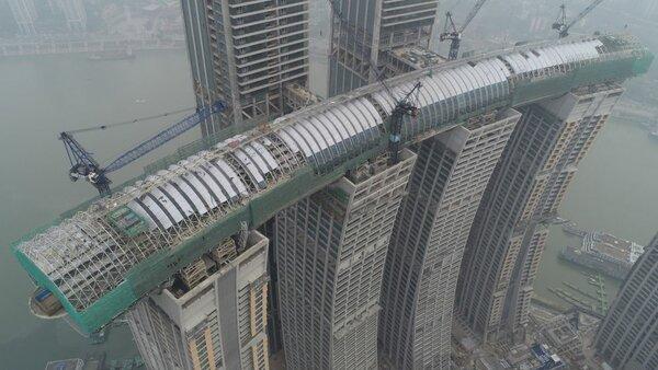 Горизонтальный небоскреб из Китая