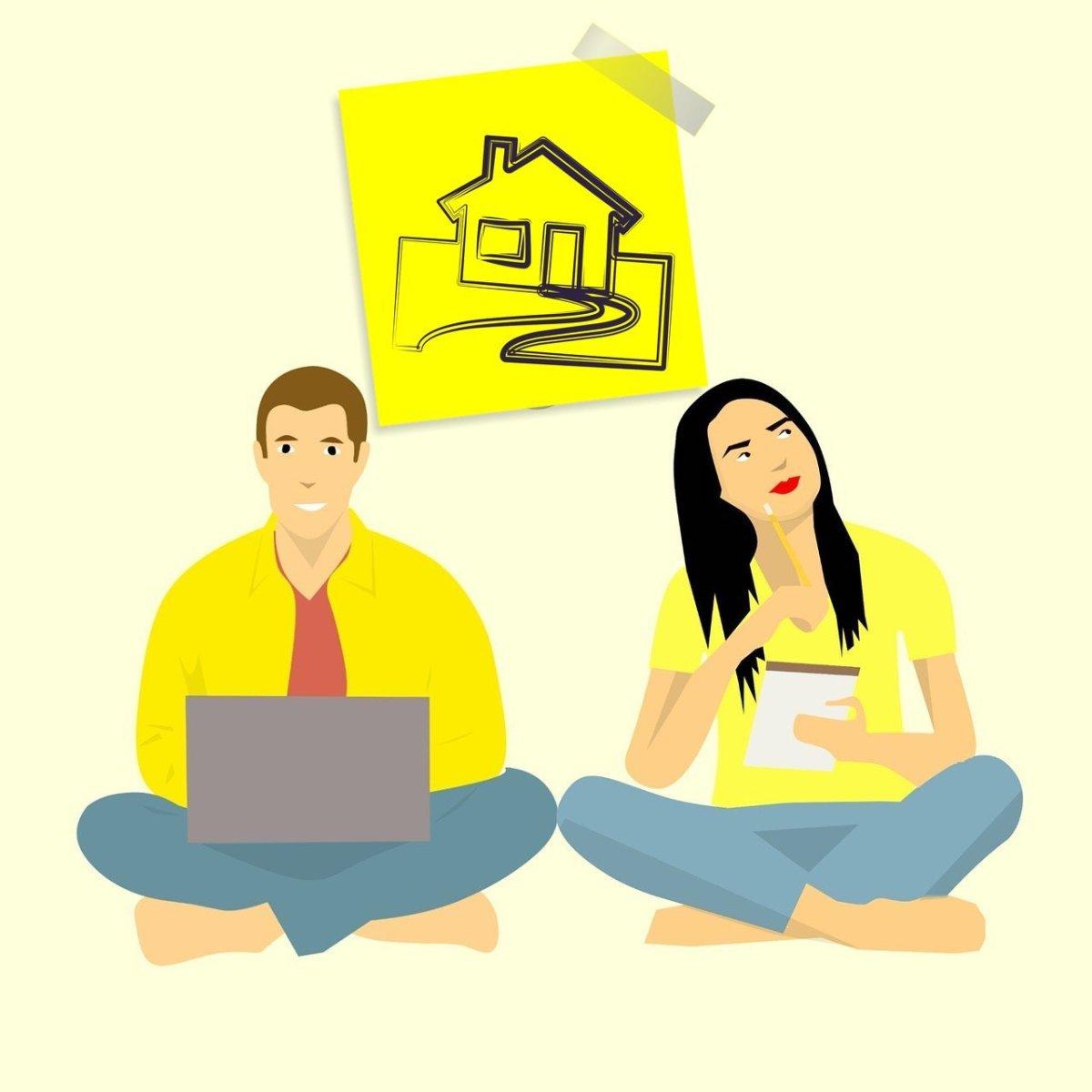 Мужское и женское лицо ипотеки
