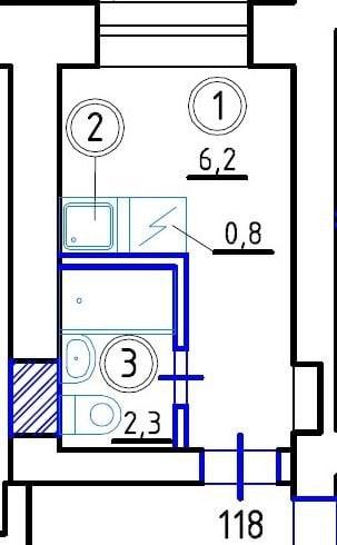 В Москве появились маленькие квартиры в 9 квадратных метров
