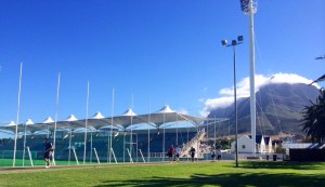 Südafrika, Kapstadt 2014 Station & Trainingsgelände