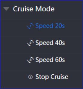 Cruise mode