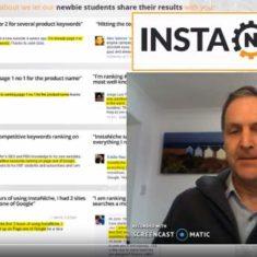 InstaNiche review - video screenshot