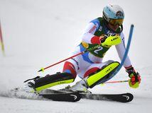 SR Slovakia Skiing SP slalom women 1. round ZAX