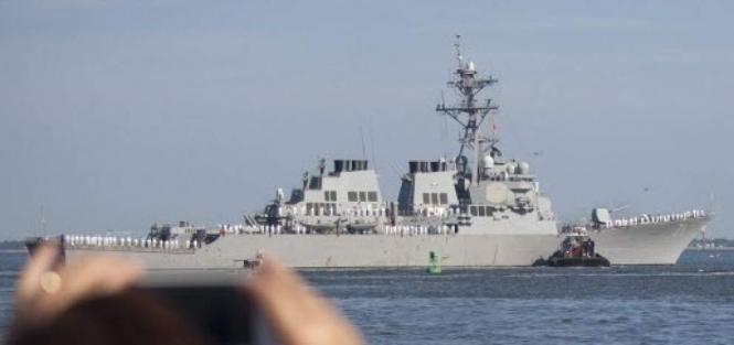 В воскресенье в Черное море войдет ракетный эсминец 6-го флота США