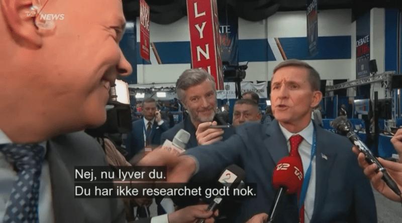 General Flynn fortæller Jesper Steinmetz han lyver.