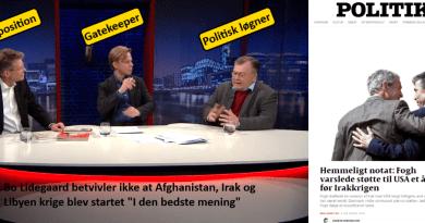 Bo Lidegaard, Clement, Claus Hjort Frederiksen og Anders Fogh Rasmussen
