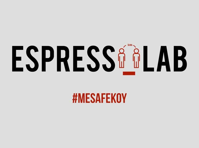 Espressolab'dan sosyal mesafe çağrısı