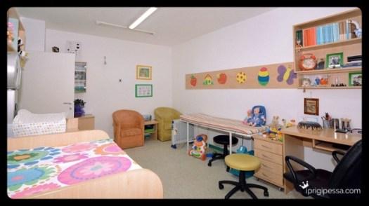 Ένα χαρούμενο ιατρείο για παιδιά με όλη τη σημασία της λέξης