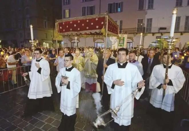 Solennità del            CORPUS DOMINI: giovedì 20 (processione cittadina) e domenica 23 giugno(festa)