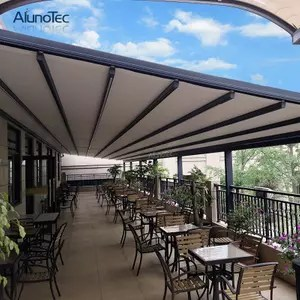 Waterproof Pvc Awning Retractable Carport Awning With
