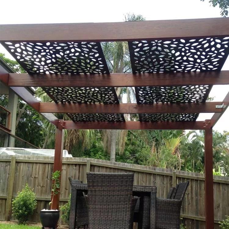 outdoor modern aluminium panels with