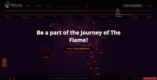 Baku 2015 – Follow the flame