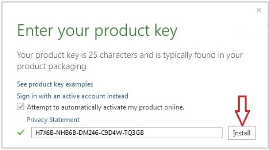 microsoft office 365 home premium product key free