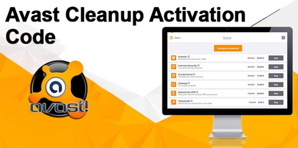 Avast Cleanup Activation Code and Avast Premier License Key 2019