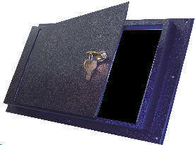 Panel Cover with Lock