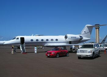 Seeking a Sign of CEO Excess? Look Up in the Sky