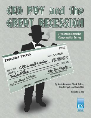 CEO pay 2010 cover