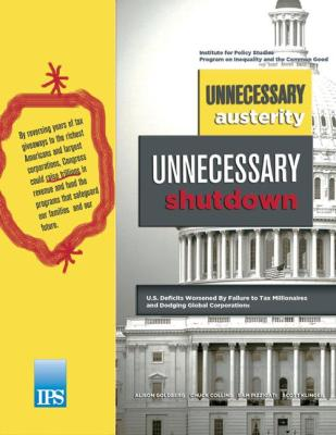 Unnecessary Austerity, Unnecessary Shutdown