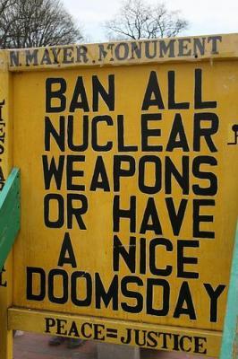 Sign at Washington, DC protest