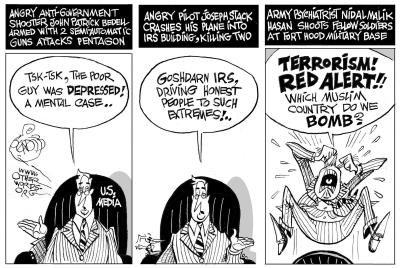 Terrorists in the Eye of the Beholder