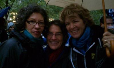 Occupying Wall Street with Laura Flanders and Judith LeBlanc.