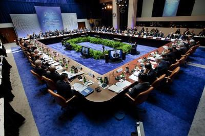 G20 finance ministers met in Washington earlier this year. China's actions are a crucial part of this week's conversations in Cannes, France. Photo by International Monetary Fund.