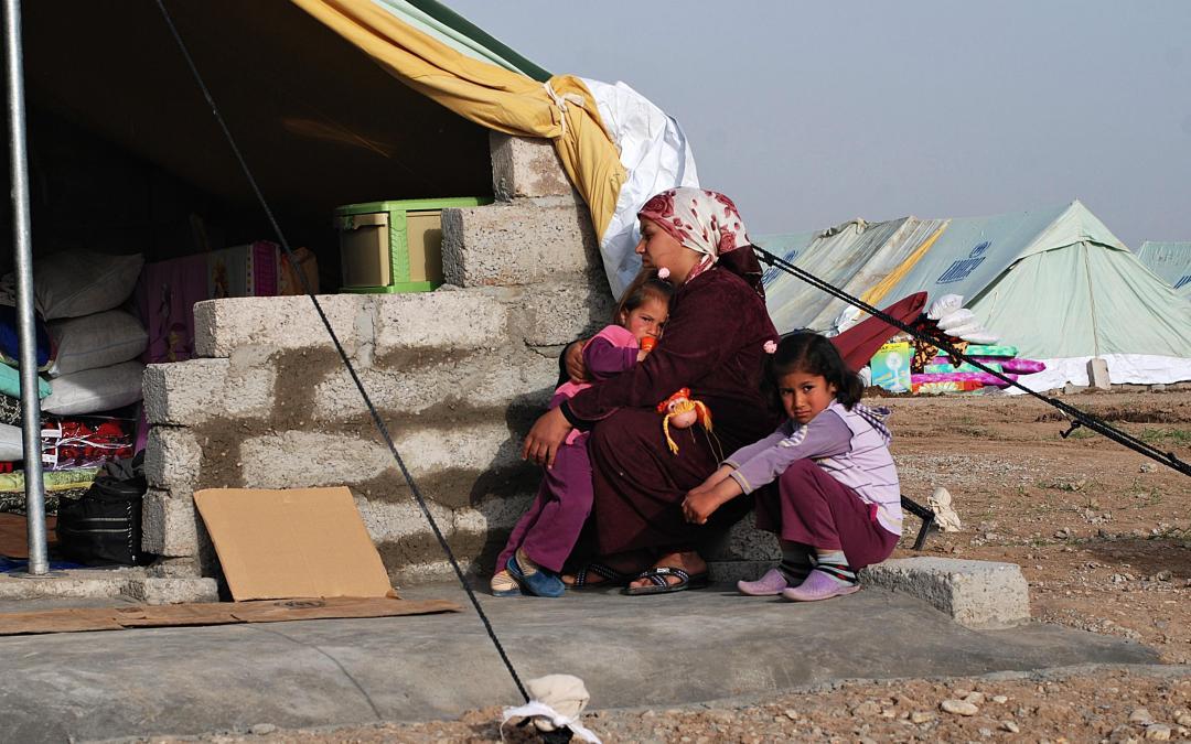 Syrian Kurds Fleeing to Iraqi Safe Haven