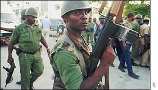 Don't Recreate Haiti's Army