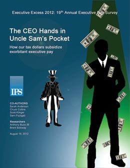 Executive Excess 2012: The CEO Hands in Uncle Sam's Pocket