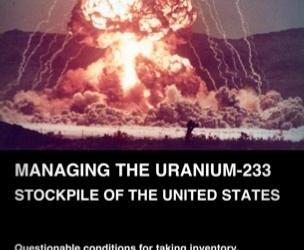 Managing the Uranium-233 Stockpile of the United States