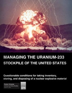 Report - Managing the Uranium-233 Stockpile of the United States