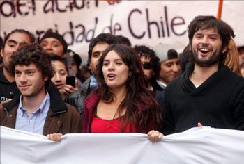 Panel: Student Organizing with Camila Vallejo and Noam Titelman