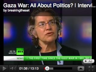 Phyllis Bennis on RT: Israel, violence in Gaza, and ending the Israeli occupation