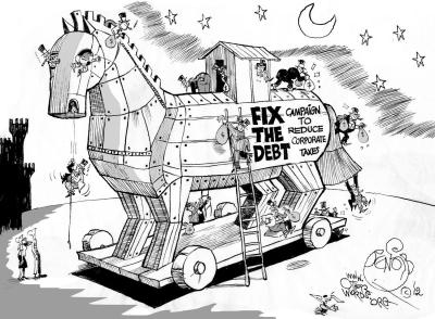 Fix the Debt Empties Its Trojan Horse