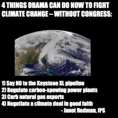 4 Things Obama Can Do Now to Fight Climate Change – Without Congress