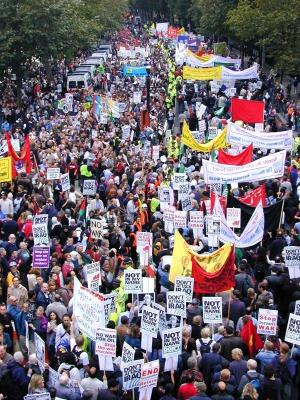 Antiwar Protests 2003 - London