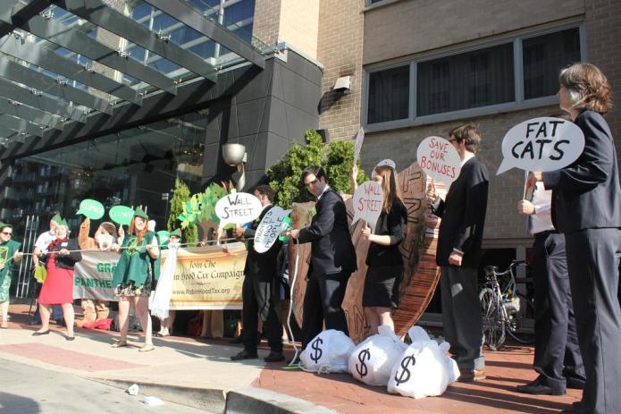 Robin Hood Tax Action, Washington DC