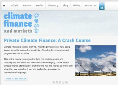 Climate Finance Markets Site - www.climatefinance.org