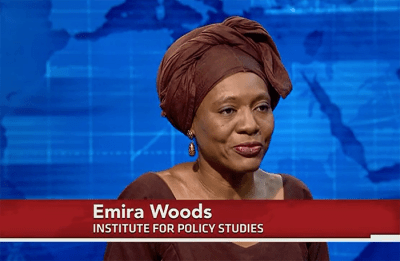 Emira Woods on PBS NewsHour: Obama's Africa Trip