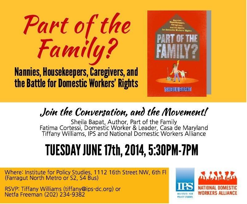 Author Event: Part of The Family?