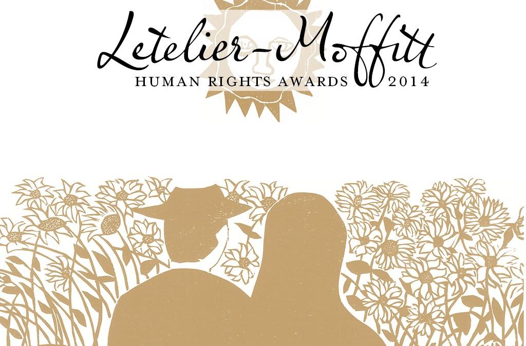 Letelier-Moffitt Human Rights Awards 2014