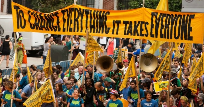 The People's Climate March in New York City