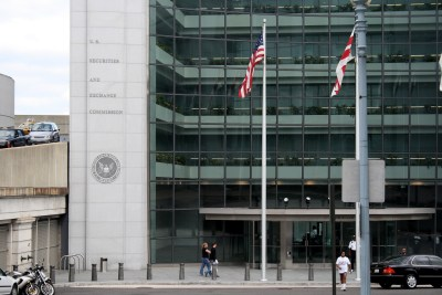 The U.S. Securities and Exchange Commission building