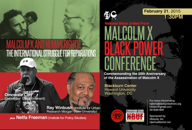 Conference: Malcolm X and Human Rights