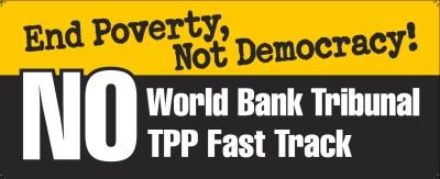 World Bank banner