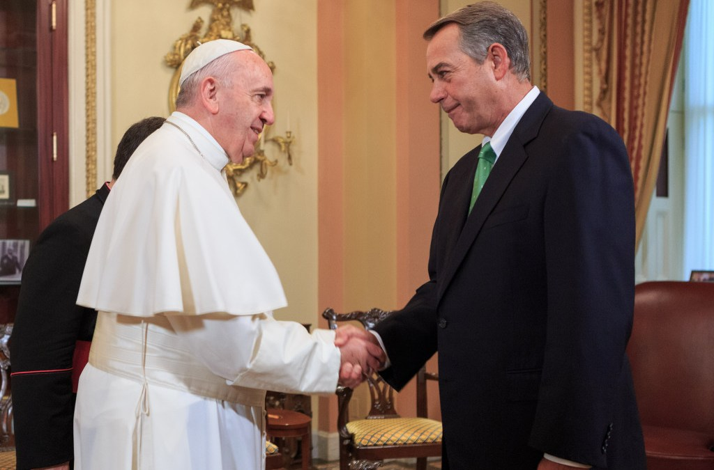 U.S. Lawmakers Quick to Spurn Pope After His Plea to Protect Climate