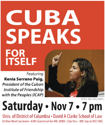 Cuba Speaks for Itself graphic