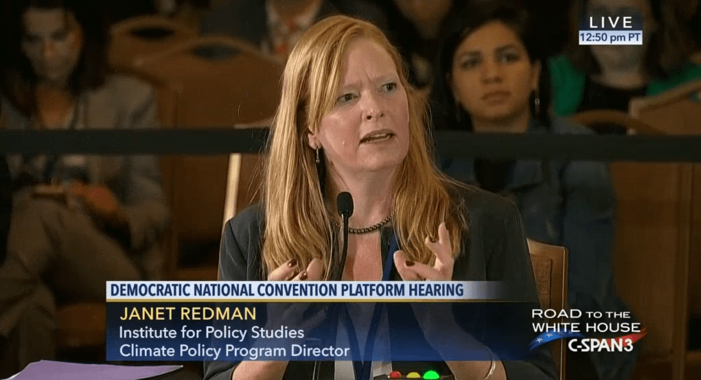 Watch: A Climate and National Security Platform that Puts People and Planet First